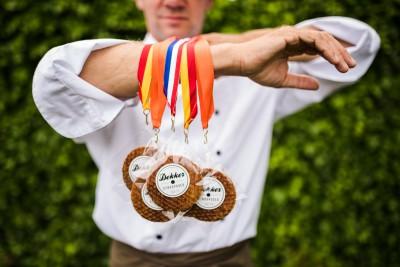 Stroopwafel medailles